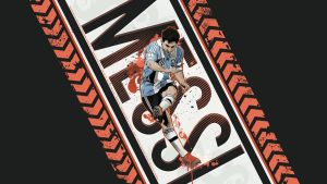 Lionel Messi Argentina wallpaper by akyanyme