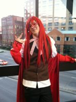 Grell Sutcliff - Butler of Death by Rave-And-Thorns