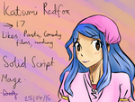 FT New Gen: Katsumi by AmyJ16