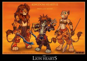 KH2 Lion Hearts by alphaleo14
