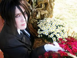 His Butler - Flowered 4 by zombie-tea-party
