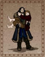 The Hobbit: Lean On Me by wolfanita