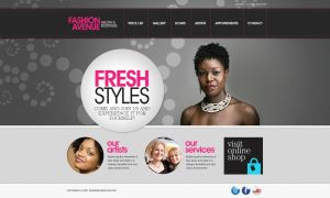 Fashion Avenue Salon and Boutique by webchakra