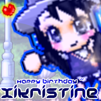 Happy Birthday xiKristine by Coldent