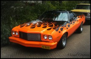 1974 Ford Ranchero 500 by compaan-art