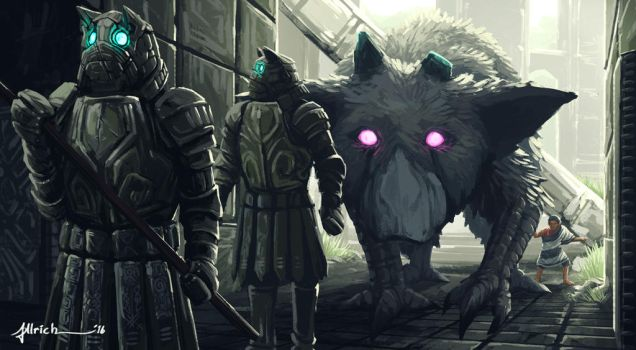 The Last Guardian - Armour by onlychasing-safety