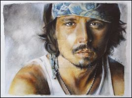 Johnny Depp by Anna-Mariaa