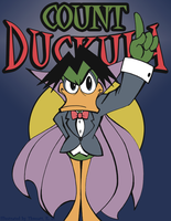 COUNT Duckula by thweatted