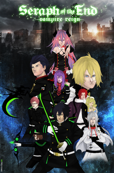 Seraph of the end by gorachi-II