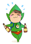 hello yes I like alcohol and tingle by meowing-ghost