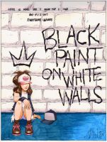 Black Paint on White Walls, cover by ViolaRae