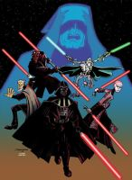 Enemies of the Jedi by DrawnToPerfection