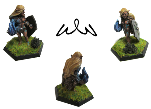 Lomia (HeroForge Custom 3D-Printed Miniature) by Witchwater