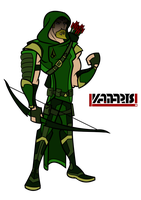 Green Arrow by PhoenixStudios91