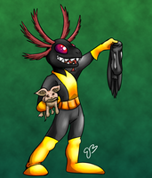 The Black Mudpuppy by SunScales