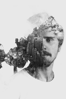 double exposure test by morexod
