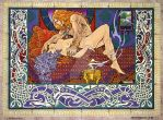 Fantasy Erotic Celtic Art - THE DREAM OF NUADA by jimfitzpatrick