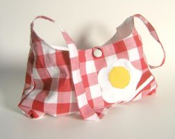 Bacon and Eggs Purse by mousch