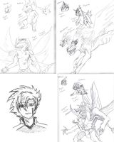 Digimon Mixes by WrenShimmamora