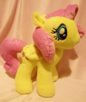 Fluttershy Pony Plush by Sparkle-And-Sunshine