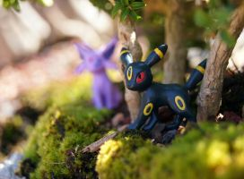 Espeon and Umbreon - 2 by Mana-Mihara