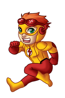 Chibi Kid Flash by TwinEnigma