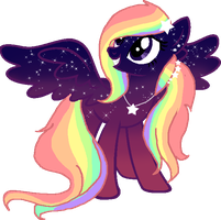 Sunset Rainbow Pony Theme Request by Arianstar