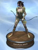 Action Figure: Elven Archer by cyanthree