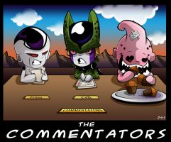 The Commentators Coloured by darkly-shaded-shadow