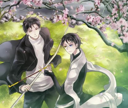 xxxHolic : Domeki and Watanuki by H2O-kun