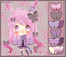 Auction- Colorful Bunny [Closed] by PuffyPrincess