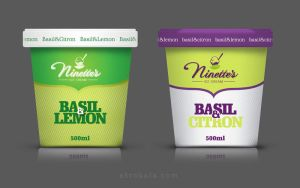 Ice cream's packaging by tmwprojekt