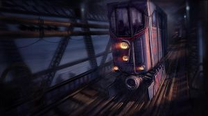 Industrial Tram by BenMauro