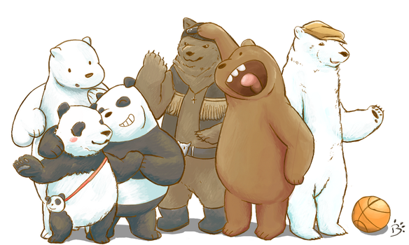 We Bare Bears! by BoshyPastrana