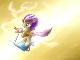 Lightning Drive by fongsaunder