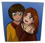 Harry and Ginny by the-winter-girl