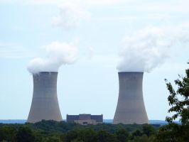 Nuclear Power Plant 11 by Dracoart-Stock