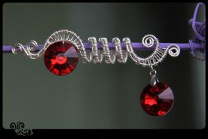 Wire Work_Pendant by ViKiV