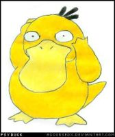 Pokemon - Psyduck by accursedx
