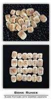 Bone Futhark Runes by DreamingDragonDesign