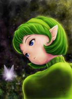 Saria by an-excited-photon