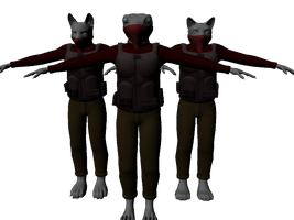 Faceless Mooks (WIP) by PlasticFrogCG