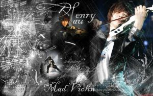 Henry Mad Violin by Love-ROKKUGO