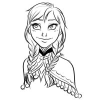 Anna Sketch by KthaP