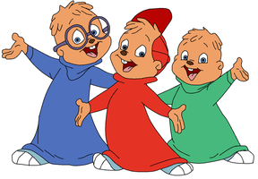 Alvin, Simon and Theodore 1 by Sandychen316