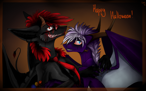 Happy Halloween by Capy-dragoness