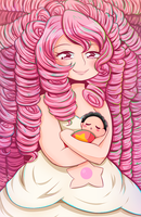 Mother Rose + SpeedPaint by Ivory-Ice