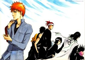 BLEACH: New life by Sideburn004