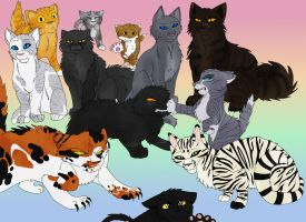 Favorite Warrior Cats by TheWrathofEnvy