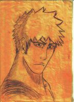 Sketching: Ichigo by Matts-91
